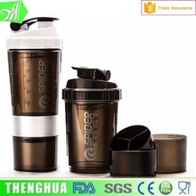 Large Capacity Protein shaker Bottles shaker Cups With Storage