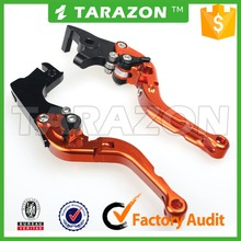 6061 aluminum alloy adjustable motorcycle hand brake lever for KTM 690 Duke