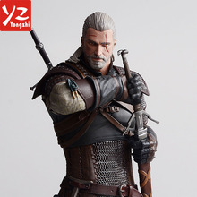 High Quality 7'' Witcher Wild Hunt Action Figure / OEM Design PVC Decoration Collectalbe Action Figure / China Factory Making