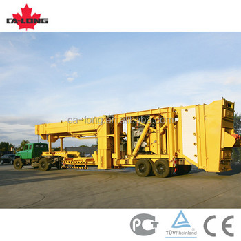 Compulsory Mobile Asphalt Mixing Plant