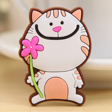 Customized printing strong rubber pvc 3d fridge magnet