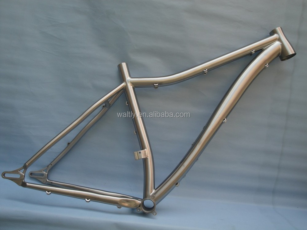 Tapered head tube design cool mountain bicycle frame