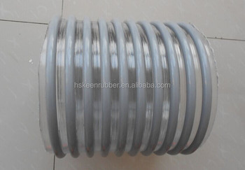 PVC water pump hose for golding, Americal quality 6 inch
