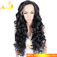 Factory Price Wholesale High Quality African American Synthetic Braided Lace Wig