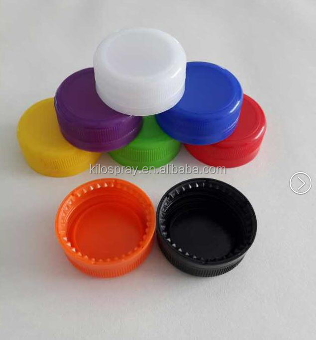 many colors choices 28/410 Coca Cola bottle cap /plastic Sprite bottle cap/screw up PP top lid