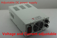Hight efficiency 1200W 60V 20A Regulated adjustable switching power supply with LED display S-1200-60