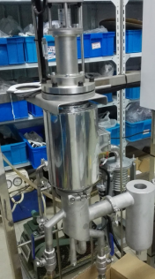 SPD 0.001mbar lab Short path distillation for high purity extraction