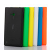 Pure color Matte back covers hard pc battery cases for nokia lumia 720