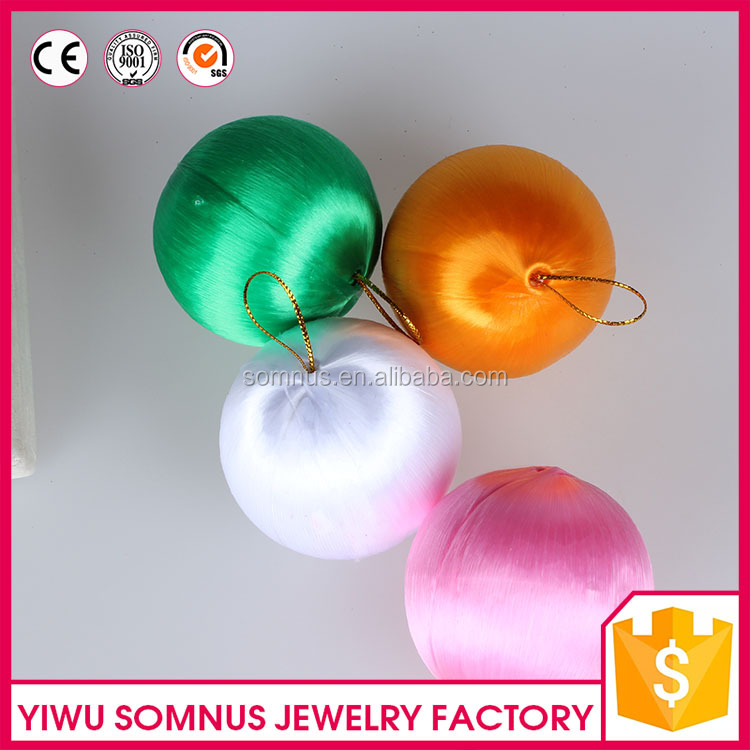Wholesale New Design Plain Christmas Decorations Plastic Balls