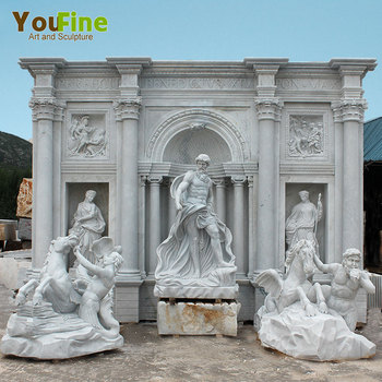 Famous Large Outdoor Garden Marble Water Fountain for sale