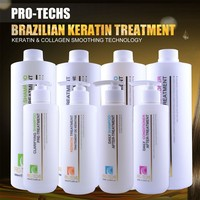 Salon use smooth&soft italian hair care products formaldehyde free keratin treatment for eliminating curls and frizz