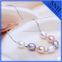 natural freshwater necklace pearl pendant
