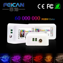 FEICAN DC12-24V 12A DreamColor RGBW Music Remote controller for LED WHIP