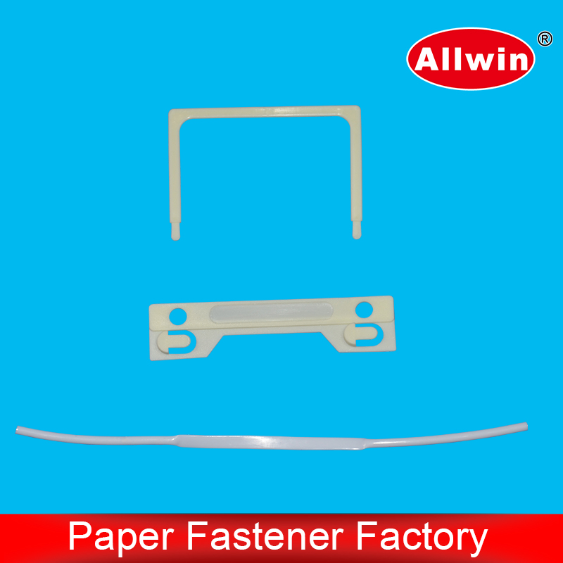 Medical report plastic non-adhesive fastener and u clips