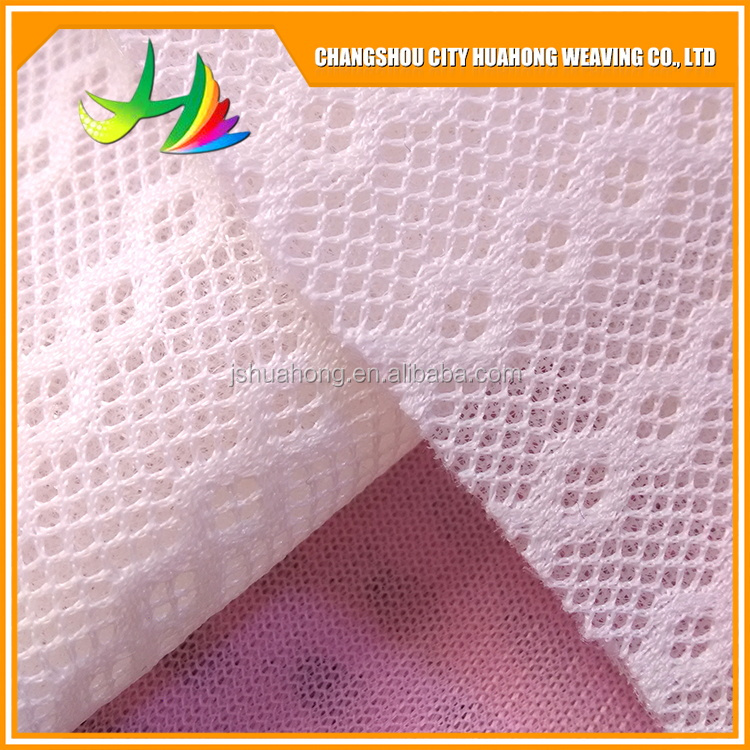 3D air mesh fabric,Serial number HH-069,white eyelet fabric