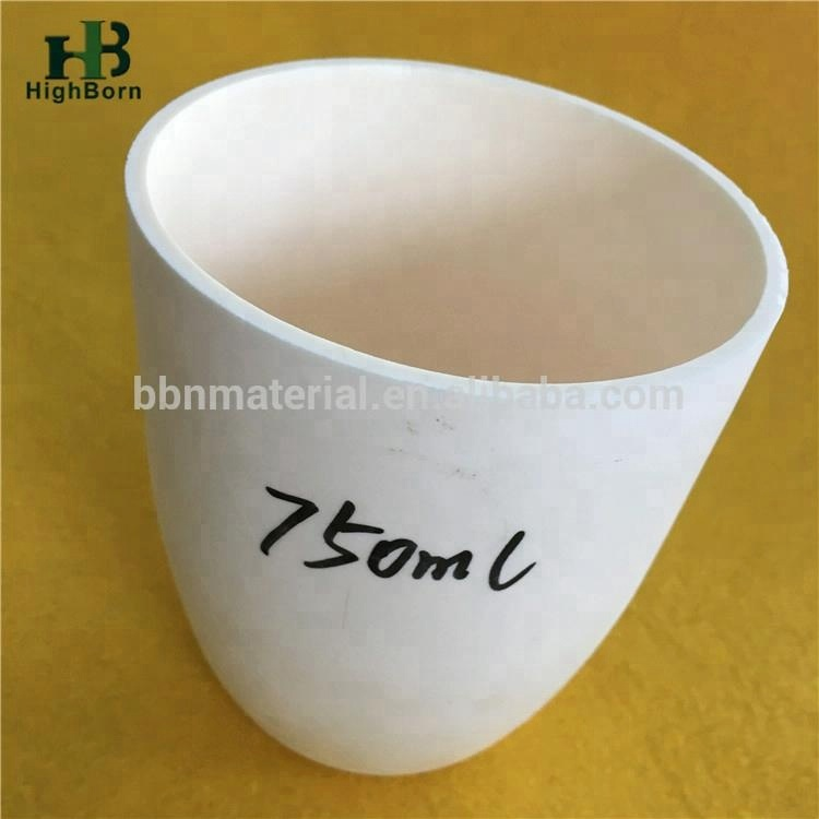 99% White Alumina Ceramic Crucible