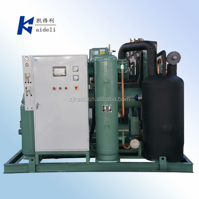 BITZER HS Series Condensing Unit With Screw Compressor