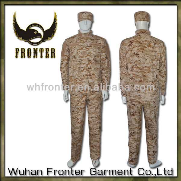 Desert Digital camouflage Uniform ACU civil war uniform