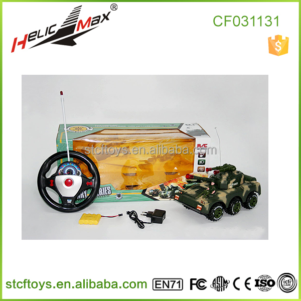 2015 Promotional price! RC Military Tank Toys Vehicles with Sound Led <strong>Kids</strong> Toys <strong>B</strong>/<strong>O</strong> Toy Car For Wholesale