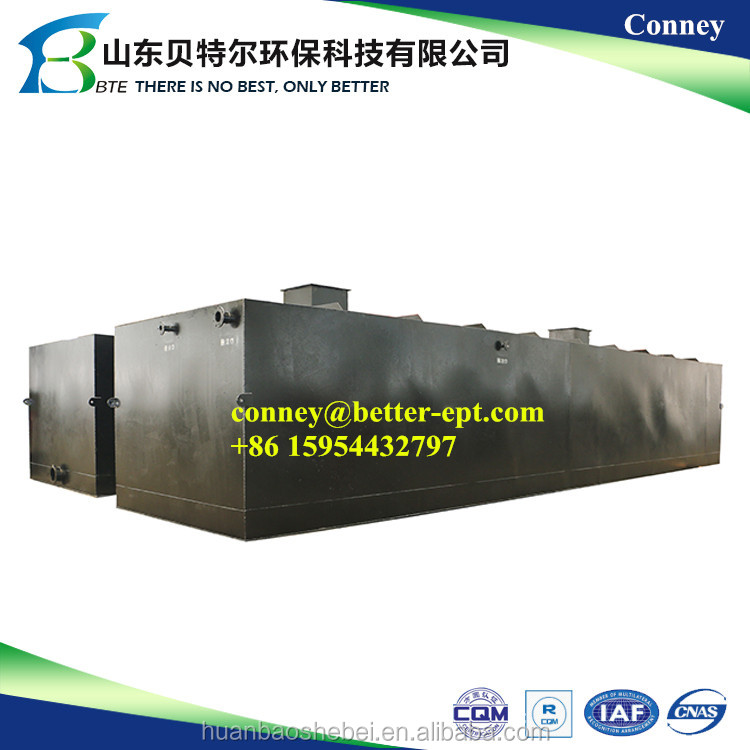 Domestic sewage treatment equipment, cheap chicken slaughter wastewater treatment plant