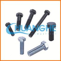 High Tensile Fastener nut and bolt, m16 bolt dimensions