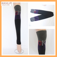 2016 New Ladies Women sexy Girl Cable Knit Soft Thigh Long Over Knee High Socks with rhinestones OK