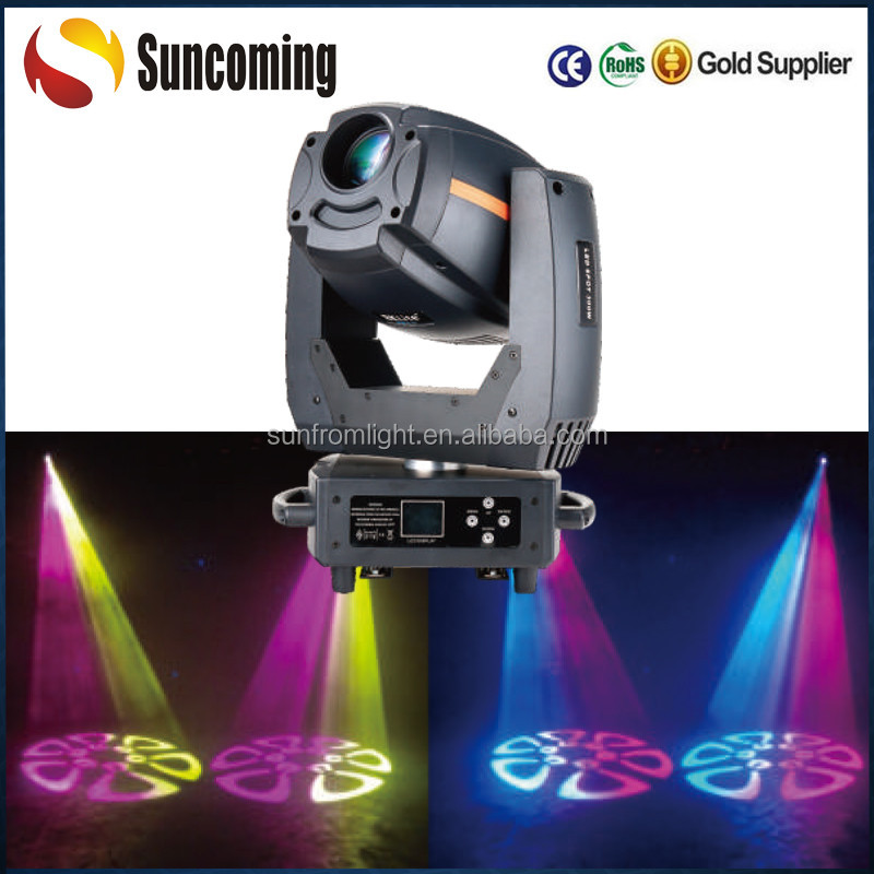 Professional Gobos Beam 300w Rainbow Effect Led Moving Head Spot Light