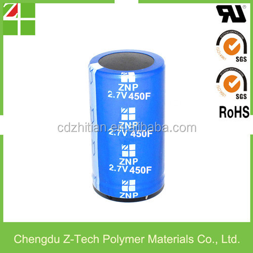100% New and Original Super Capacitor ZNP2R7V457TW3566 2.7V450F 35*66mm Farad Capacitor
