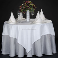 Various Colors, Shapes & Sizes Pure Color Table Cloth For Home Wedding Party