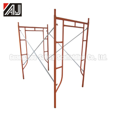 Guangzhou Factory Painted Q235 Steel Door Scaffold Frame For Construction