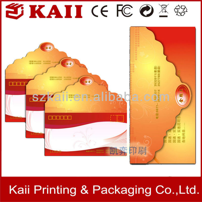 wholesale custom made red packet envelop factory price