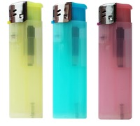 Transparent disposable lighters