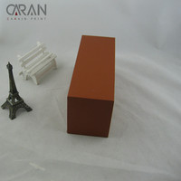 Big size rigid strong blank plain paperboard white package box for storage