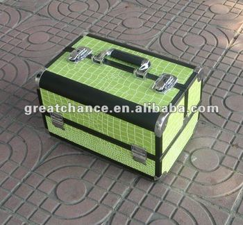 Professional Aluminum Makeup Artist Cosmetic Case box