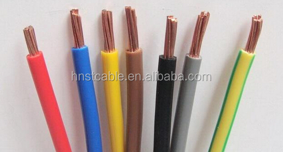 electrical wire PVC insulation electric copper cable wire