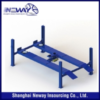 Hot new hot selling china cheap four post car lift