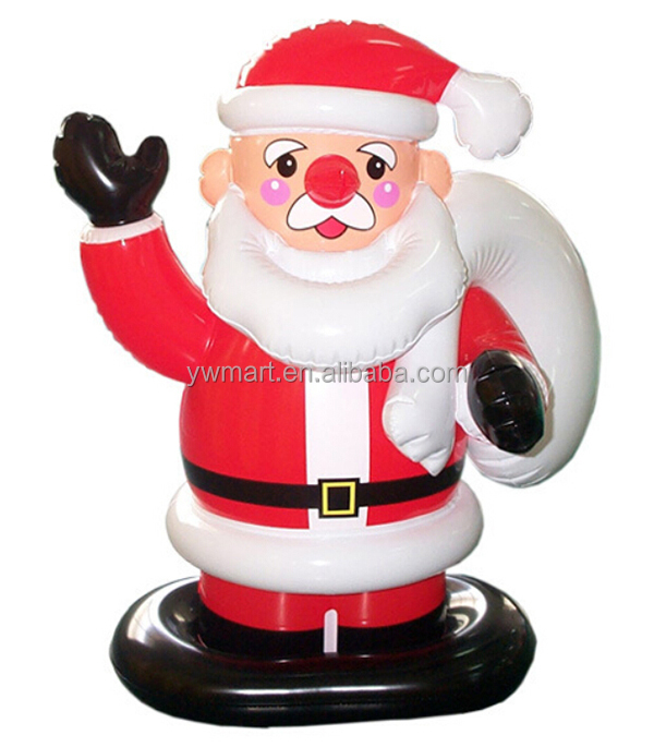 Wholesale Quality Inflatbale Christmas Santa Claus