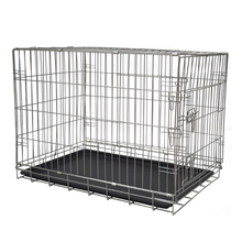 China folding iron wire large heavy duty dog cage MHD005