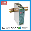 Original MEAN WELL 75W Single Output Industrial DIN RAIL NDR-75-24