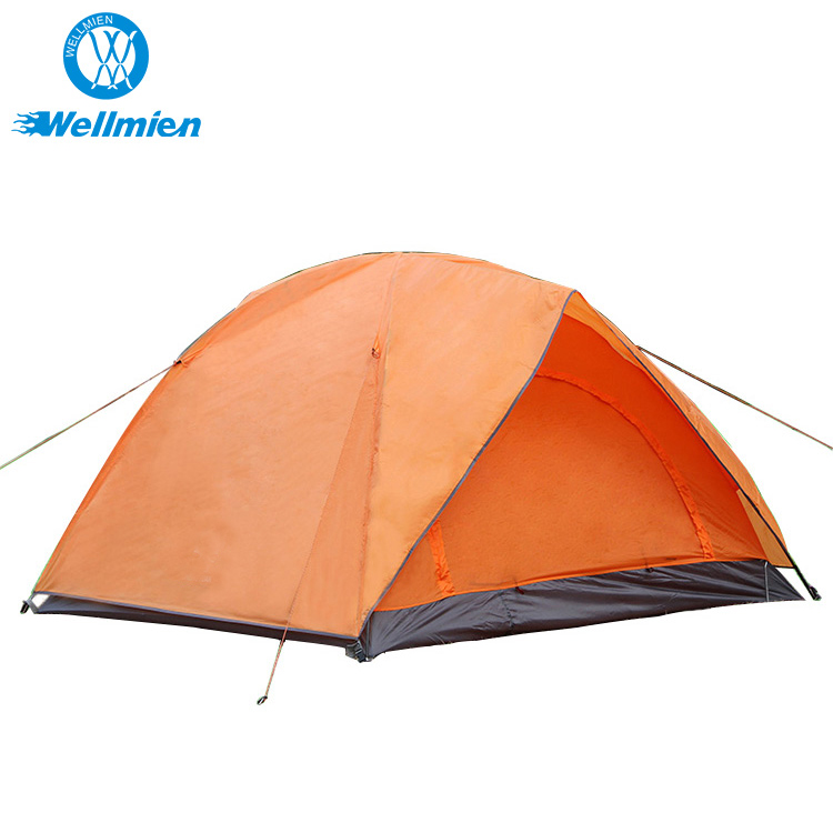 3-4 Person Double Outdoor Camping Tent Family Tents Outdoor Camping Waterproof 3 Season Folding Tent
