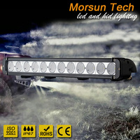"120w light bar with 10w high intensity led chips single row 20"" light bar 20 inch panel light pod"