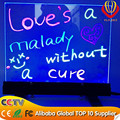 2017 alibaba lower price desktop led writing board with CE&ROHs