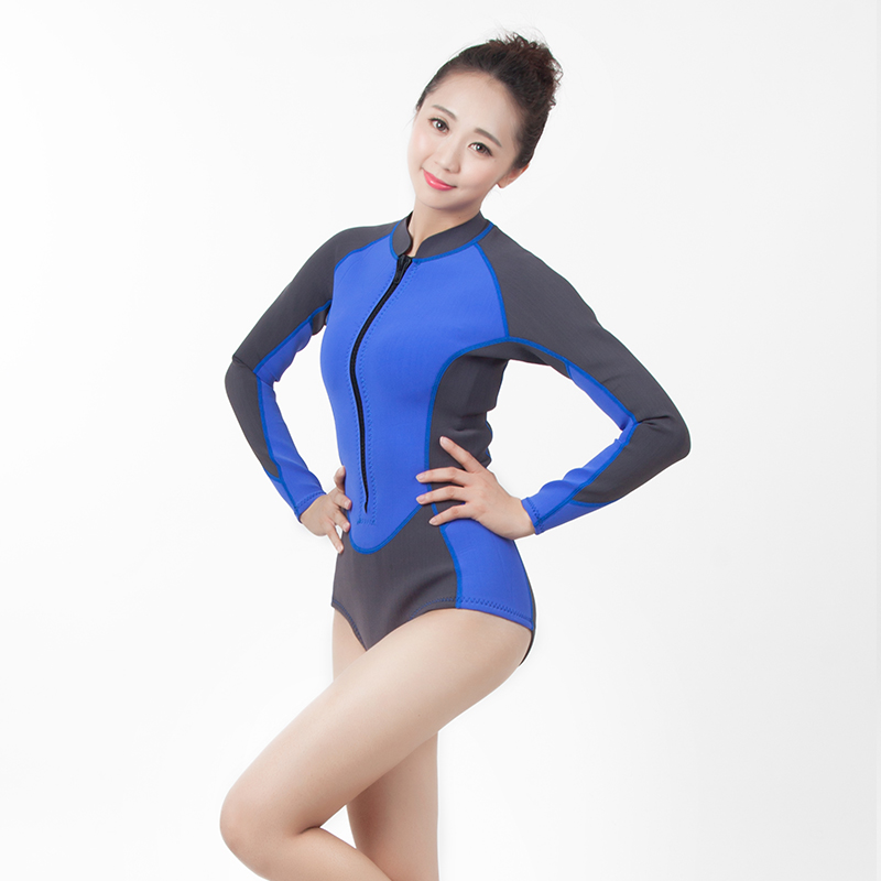 COMFORTABLE FEELING 3 mm stretchy neoprene fabrics wetsuits women's surfing