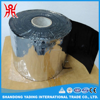 Black bituminous compound self adhesive flashing tape
