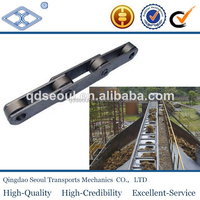 ISO DIN standard M series heavy duty long pitch steel S type roller scraper industry grain chain m224