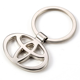 Promotional Gift customized Toyota car metal keychain logo custom