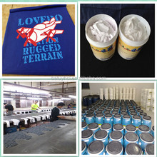 High washing garment silk screen paint