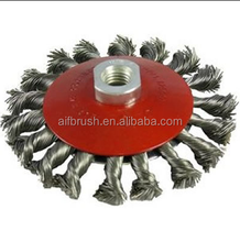 wholesale oil pipeline rust removal wire wheels bevel brush