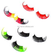 Party Halloween Carnival Colorful Cheap Crazy False Eyelashes
