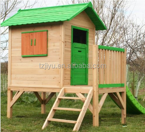 outdoor wooden playhouse for children